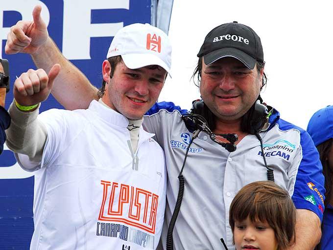 Canapino campeón TC Pista