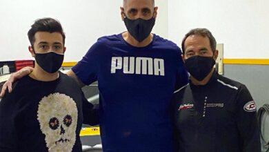 Alan Ruggieron, Cristian Ávila y Omar Martínez.