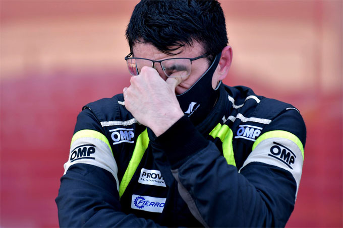 Marcos Landa emocionado tras su debut triunfal en TCP.