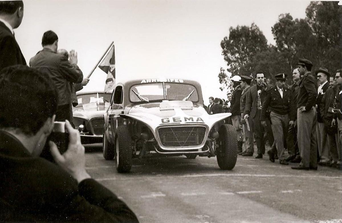 Carlos Pairetti en la Vuelta de Carlos Casares de 1965.
