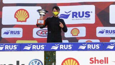 Agustín Martínez podio San Nicolás.