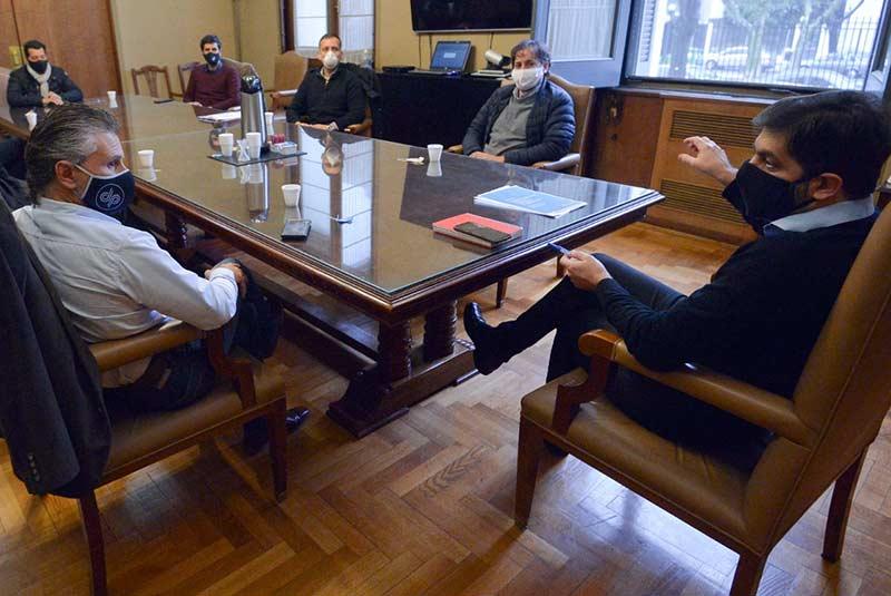 Reunión ACTC y gobierno de Buenos Aires.