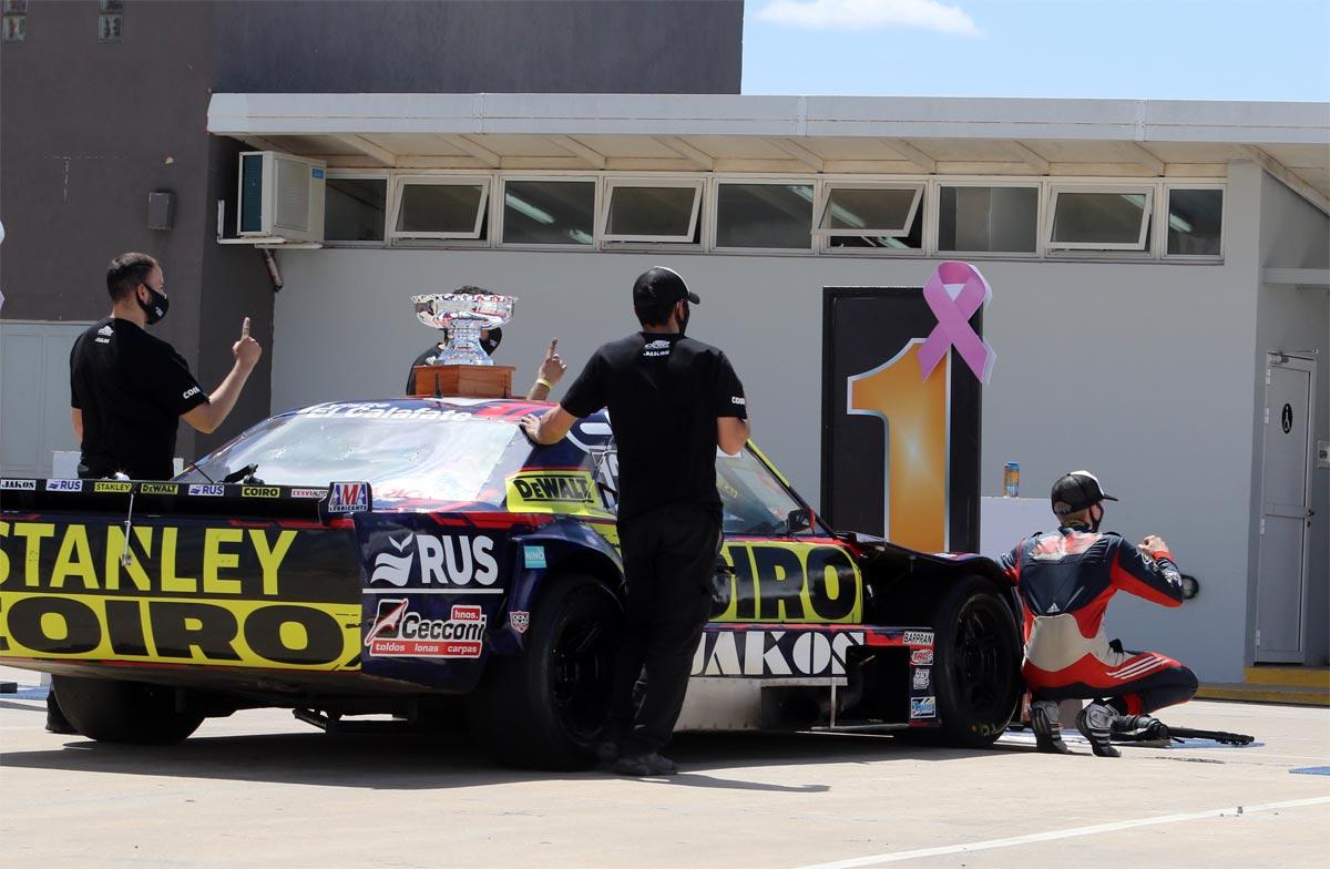 Andrés Jakos Dodge ganador en San Nicolás