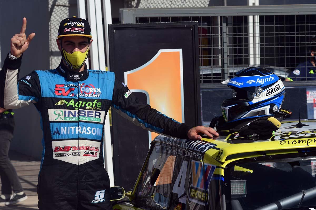 Ayrton Londera pole del TCP en San Nicolás.