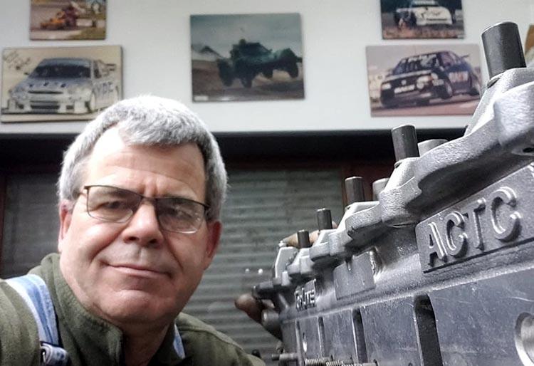 Fernando García motoristas del Memo