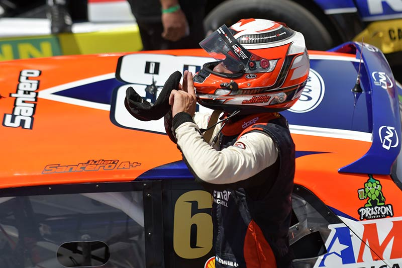 Santero ganador del TC en San Juan.