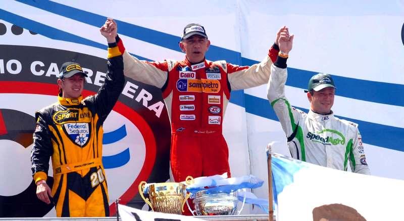 Ugalde podio Mar de Ajó 2012
