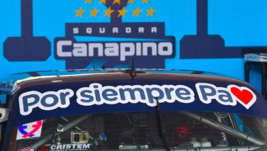 Canapino homenaje a su papá Alberto.
