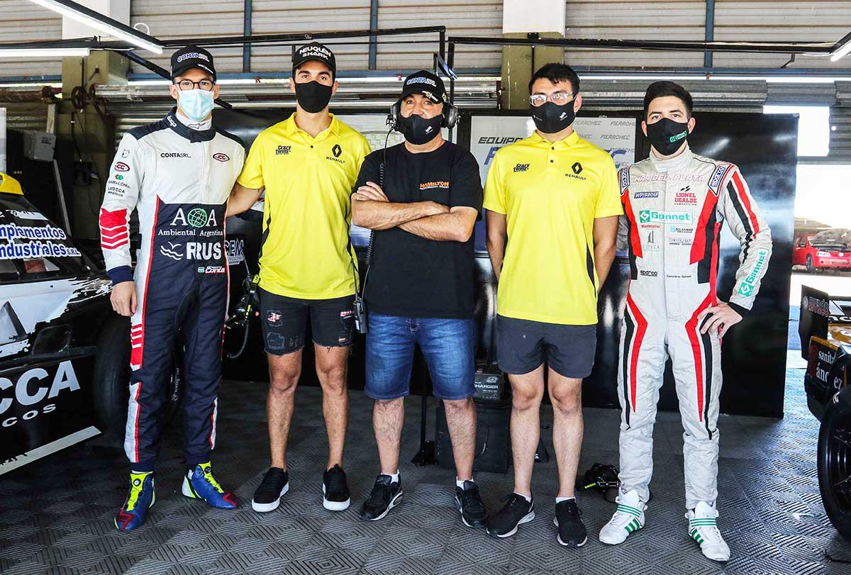 Equipo Fierromec Trotta Racing 2021.