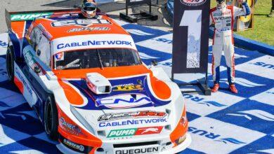 Castro hizo la pole con el Ford campeón de Werner.