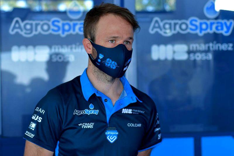 Fabio Di Palma nuevo motorista Canapino