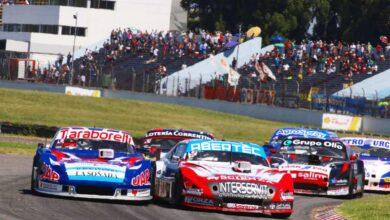 Vázquez e Iribarne al frente del pelotón de TC Pista.