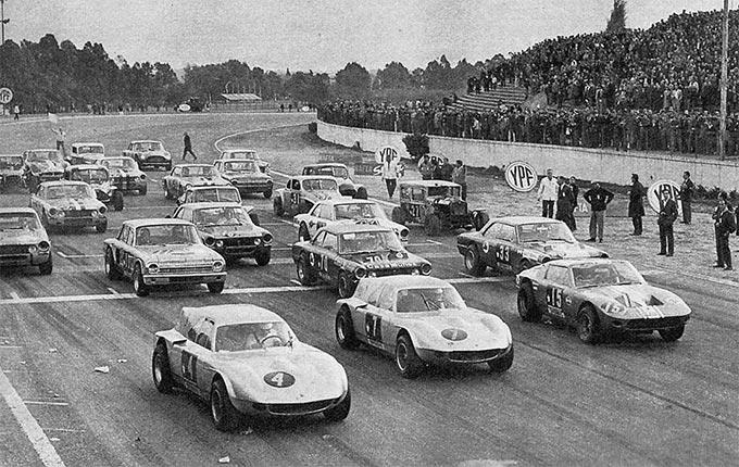 Largada TC Buenos Aires 1967