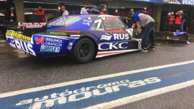 Chevrolet de Vivot en boxes de La Plata.