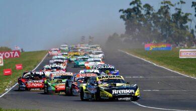 Autos TC en Paraná