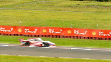 Auto de TC Pista Mouras en pista.