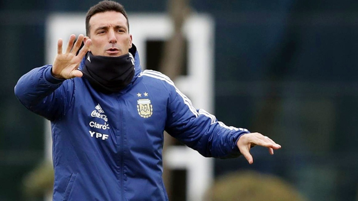 Lionel Scaloni DT Argentina
