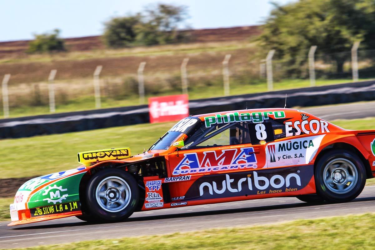 El Dodge de Castellano en la pista