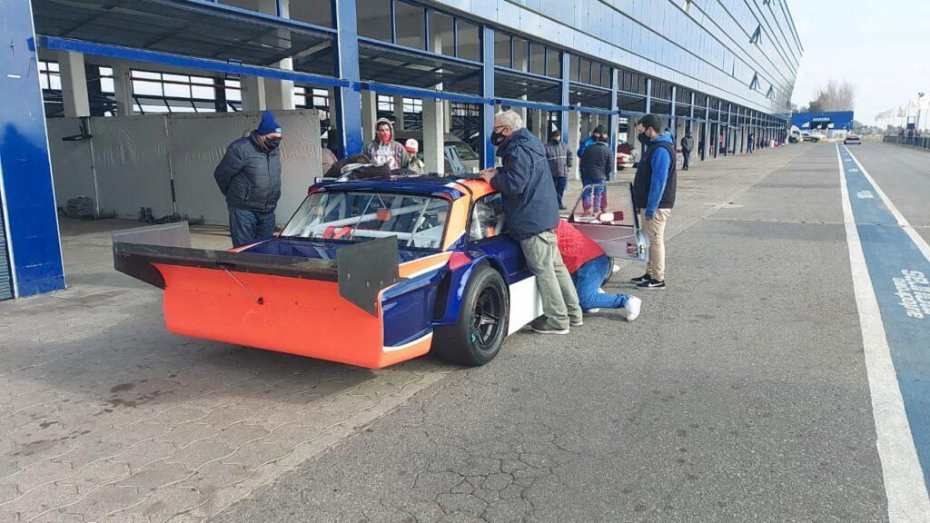El Ford nuevo de Santero en La Plata