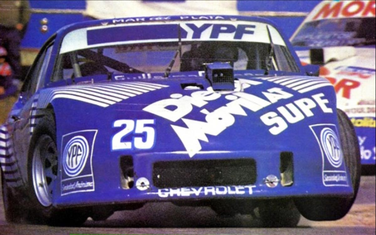 Roberto Caparello ganó con Chevrolet