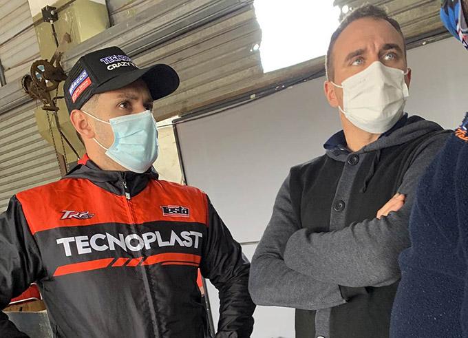 Renzo Testa y Mariano Werner