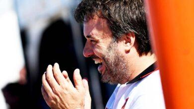Sergio Alaux en boxes.