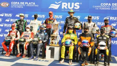 Los 12 pilotos de la Copa de Oro 2021.