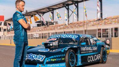 Canapino y su Chevrolet en San Juan