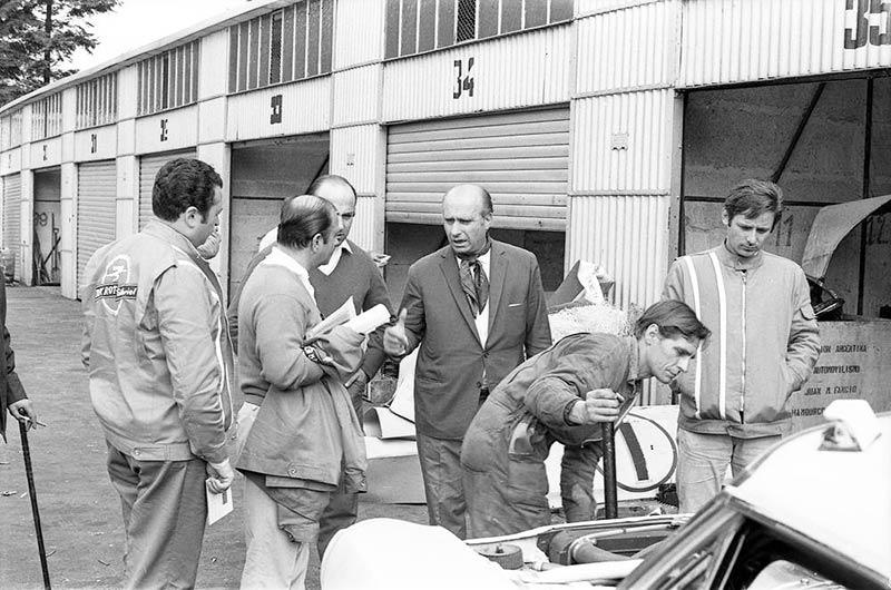 La misión argentina en Nürburgring