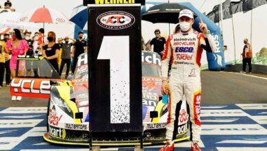 Werner con el Ford ganador en Posadas