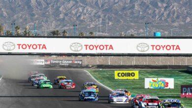 Autos de TC Pista en San Juan.