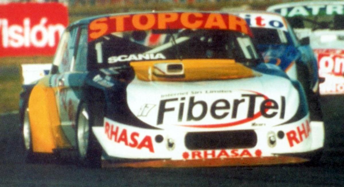 Diego Aventin y su primer triunfo en el TC