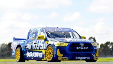 La Toyota Hilux ganadora de Boero en La Plata