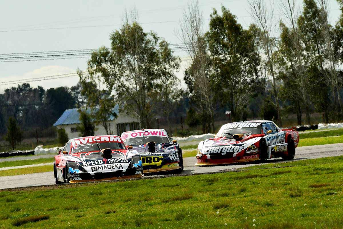 Pilo, Quijada y Cotignola en la carrera de TCM