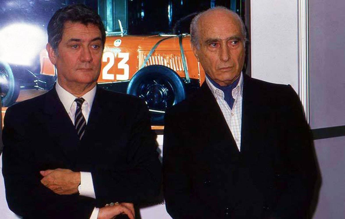 Bordeu y Fangio en primer plano