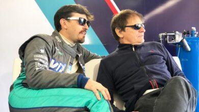 Josito Di Palma y su papá José Luis