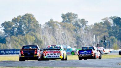 Peloton de TC Pick Up en La Plata2021