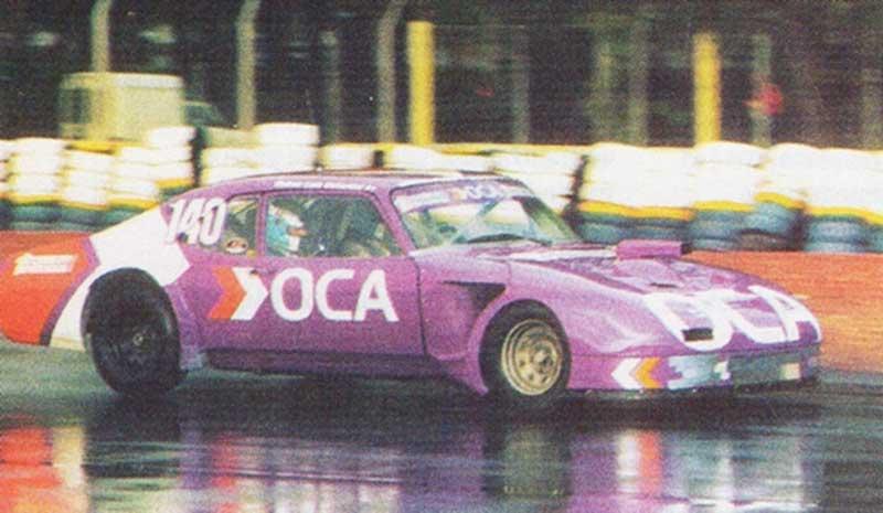 Traverso con la Chevy violeta en Buenos Aires