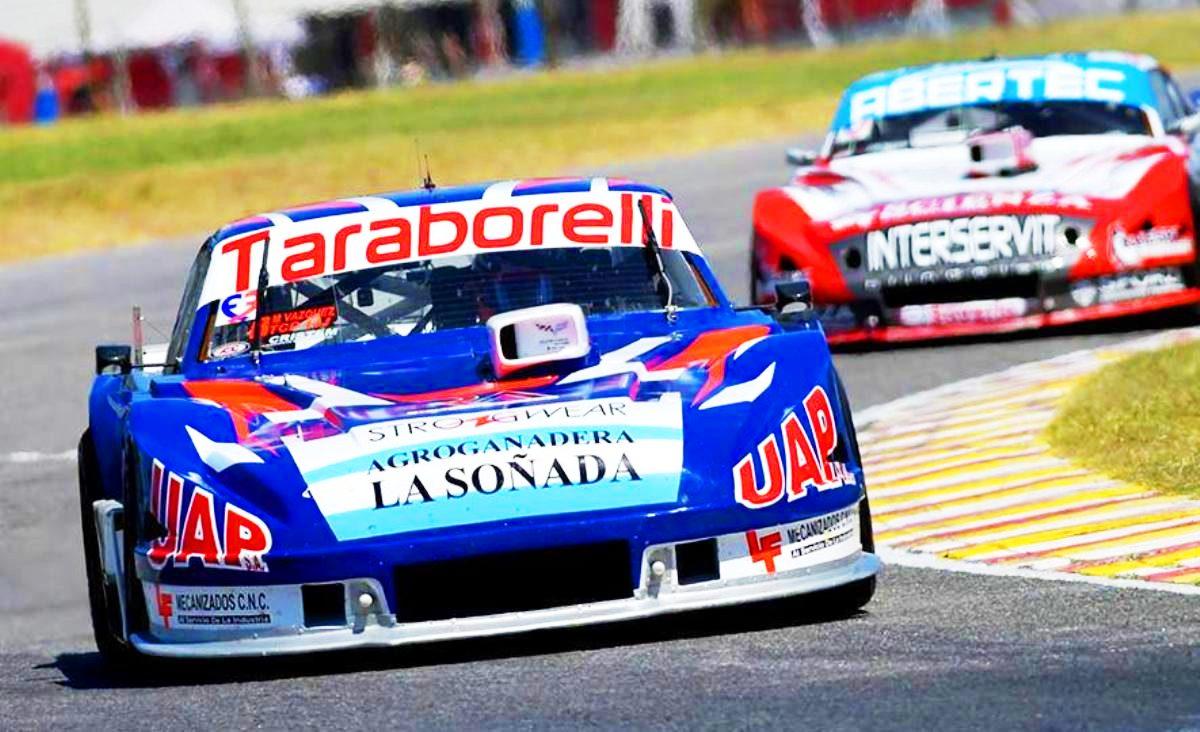El Dodge de Martín Vázquez ganando en Buenos Aires