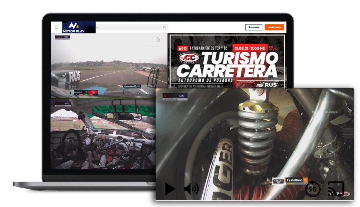 Plataforma streaming de la ACTC.