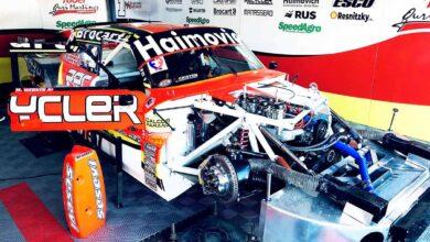 El Ford de Werner en el box
