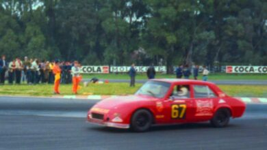 El 504 de Nicolás Mauro, el último Peugeot que corrió en TC.