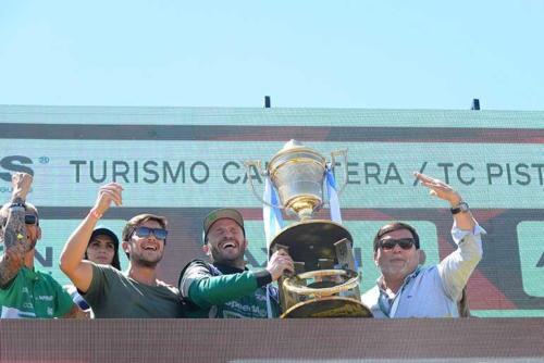 Agustín Canapino campeón Turismo Carretera